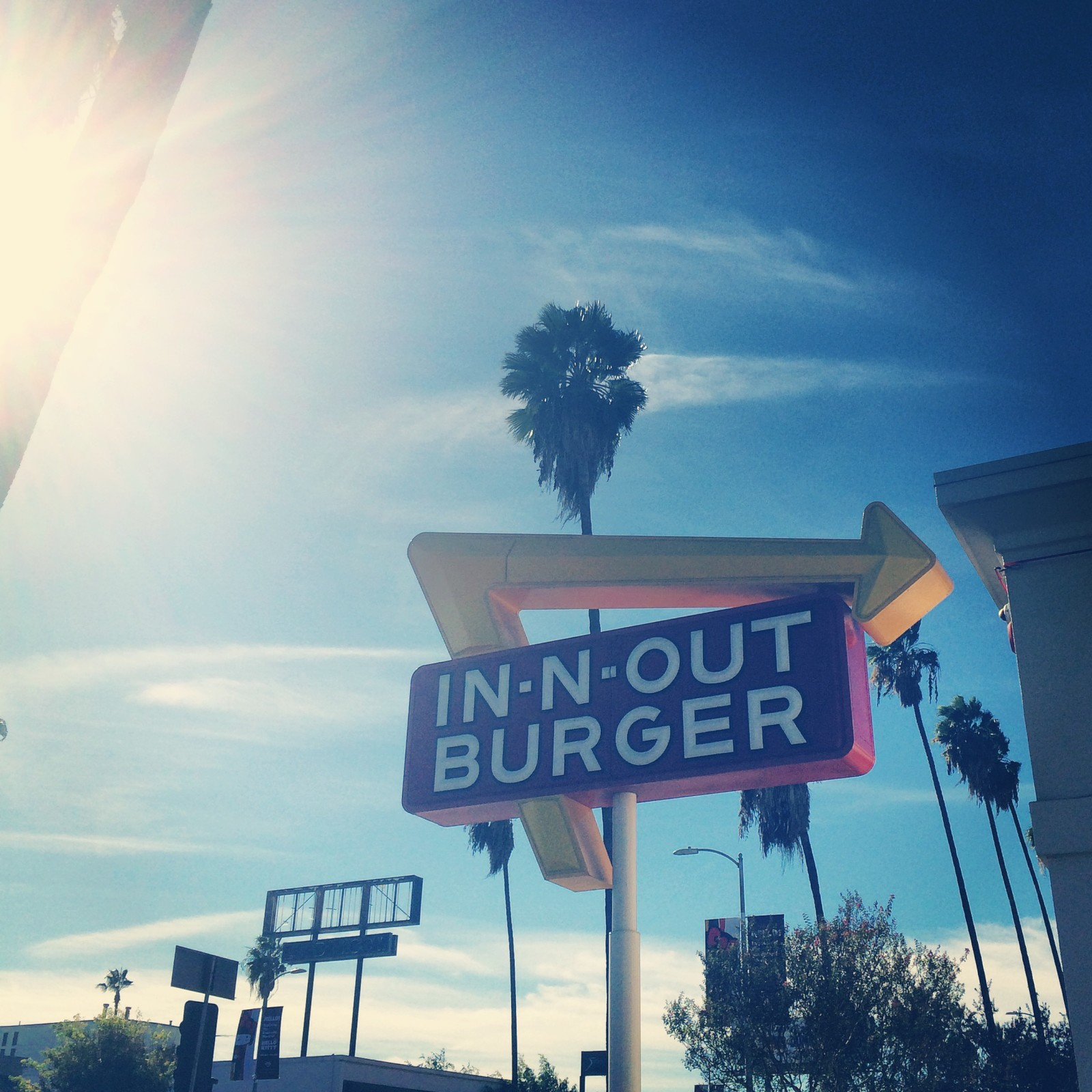 In N Out Burger LA