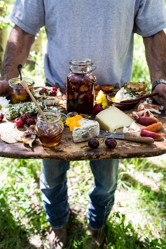 Killer Summer Cheeseboard
