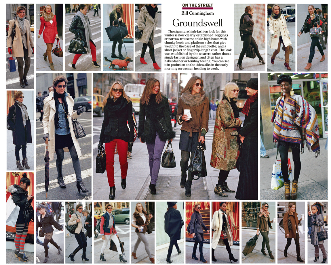 Street Style Fashion Bill Cunningham - On The Street