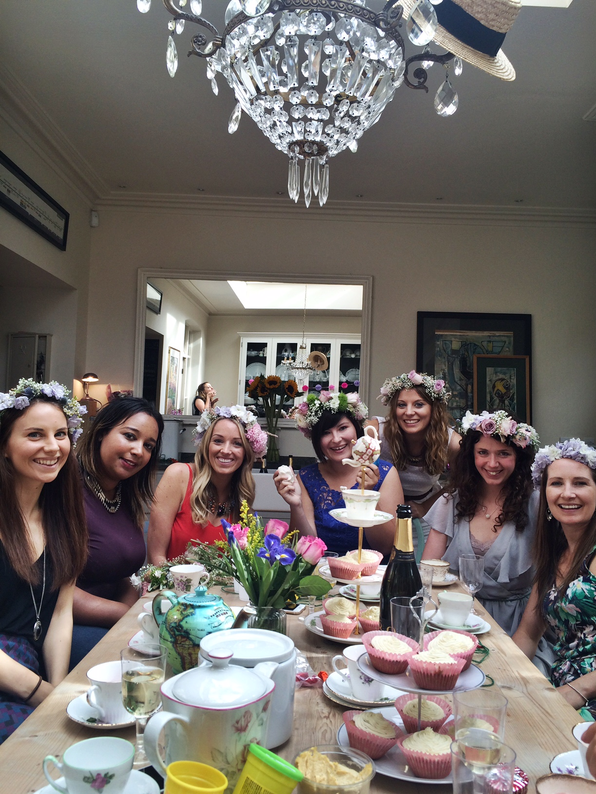 Flower Crown Making Hen Do