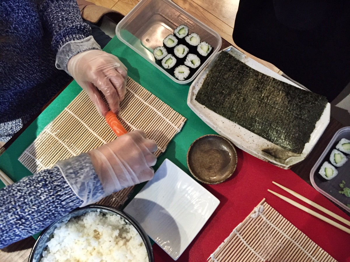 Sushi Making Class London Hammersmith