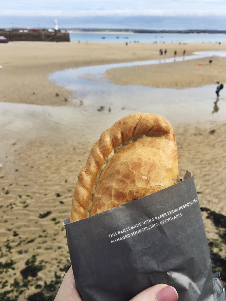 Cornish Pasty in St Ives, Cornwall