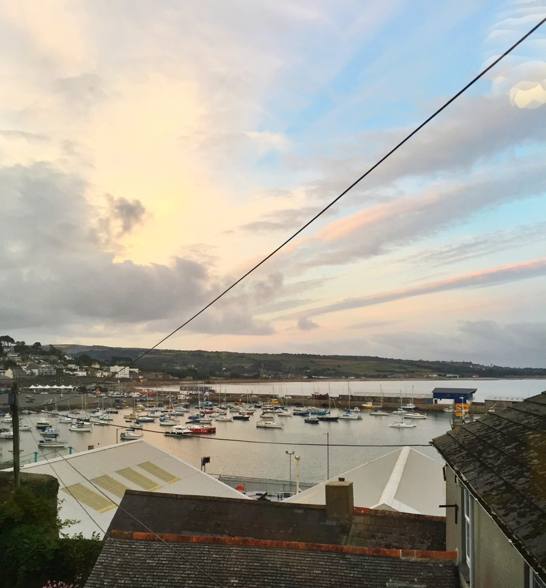 Penzance Harbour Views from Chapel House Cornwall