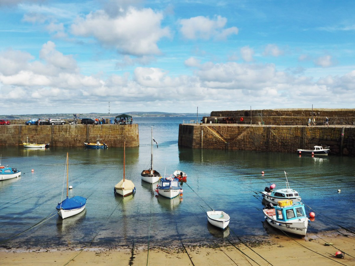 Penzance, Mousehole, Cornwall
