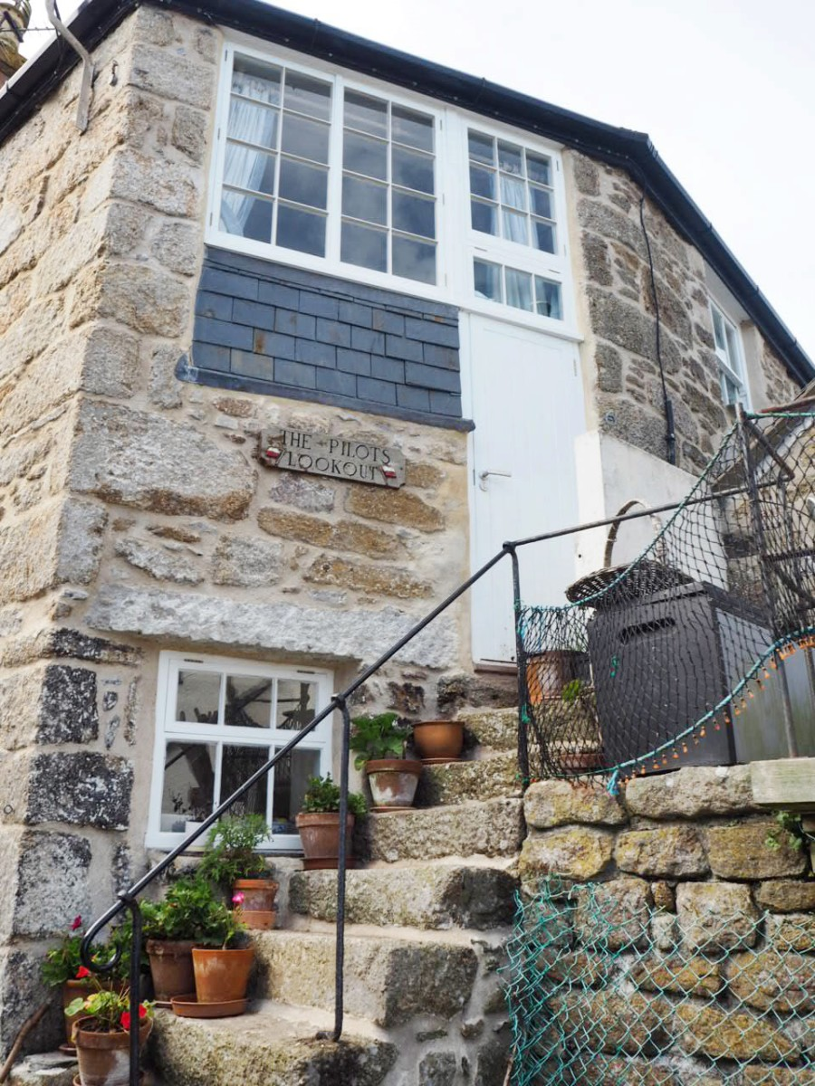 Fisherman's Cottage in Mousehole, Penzance, Cornwall