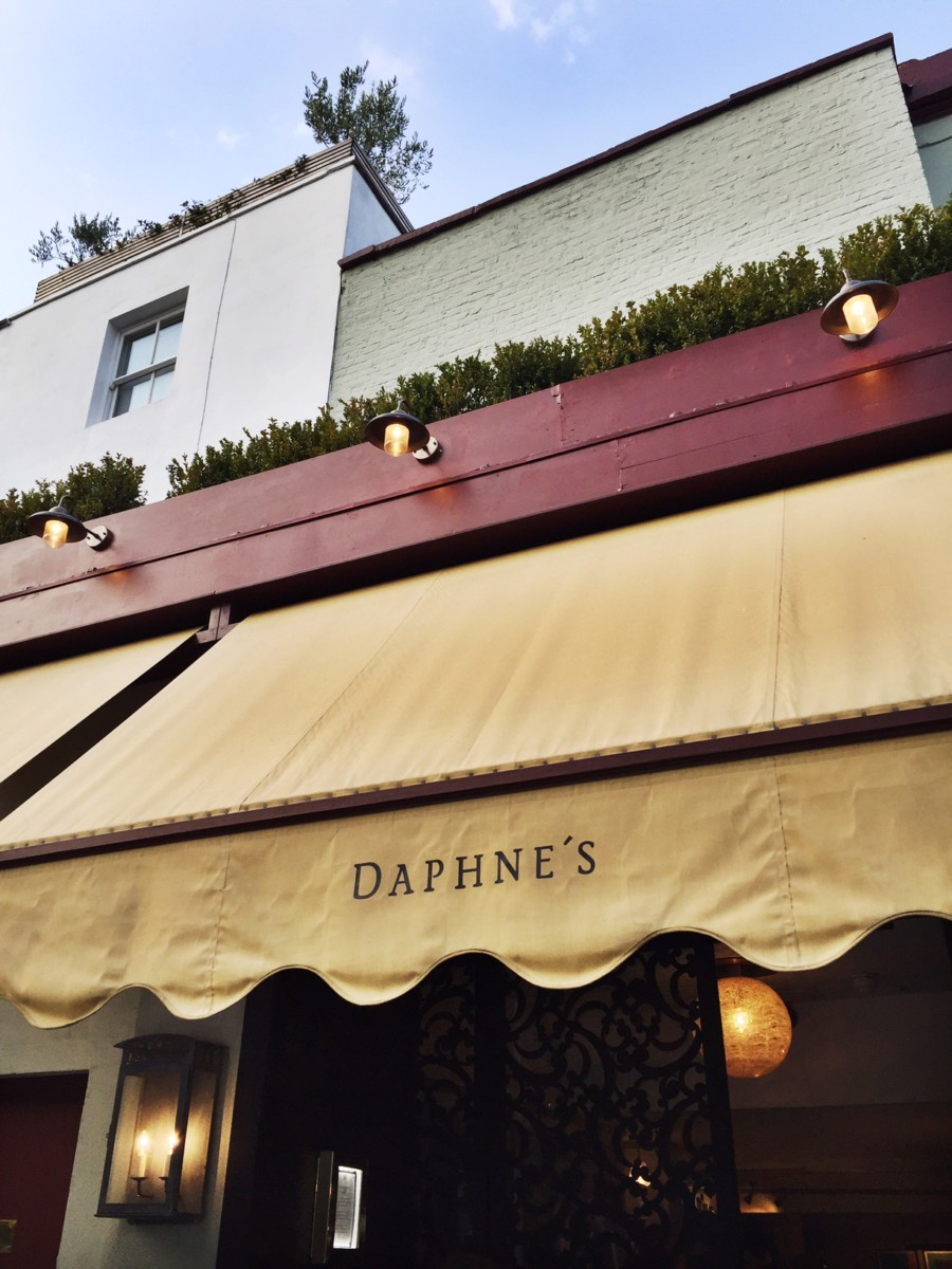 Dinner at Daphne's Chelsea