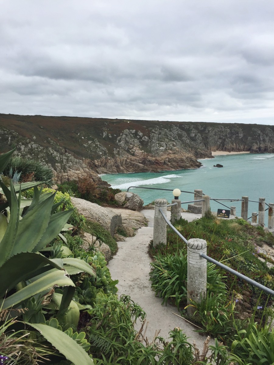 View from the Minack Theatre, Cornwall