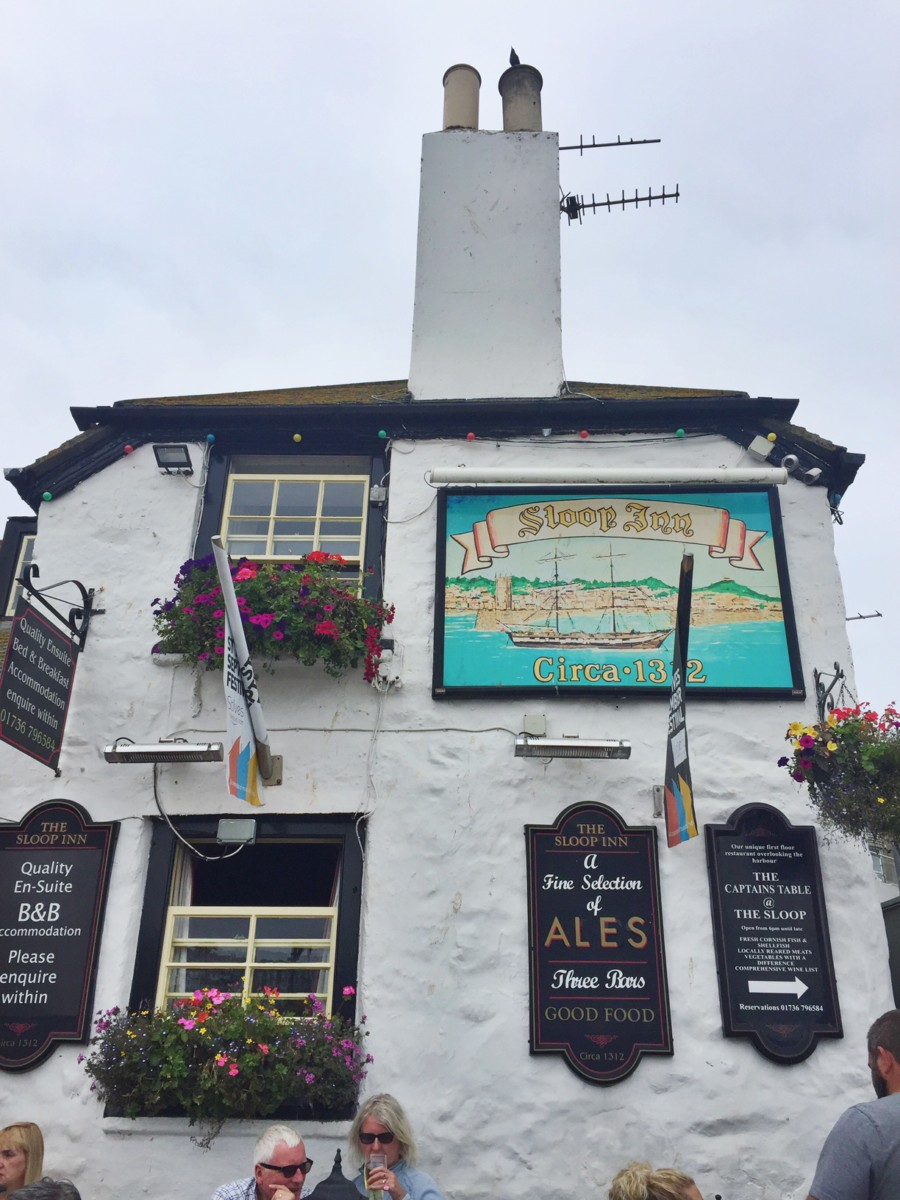 The sloop inn, St Ives, Cornwall