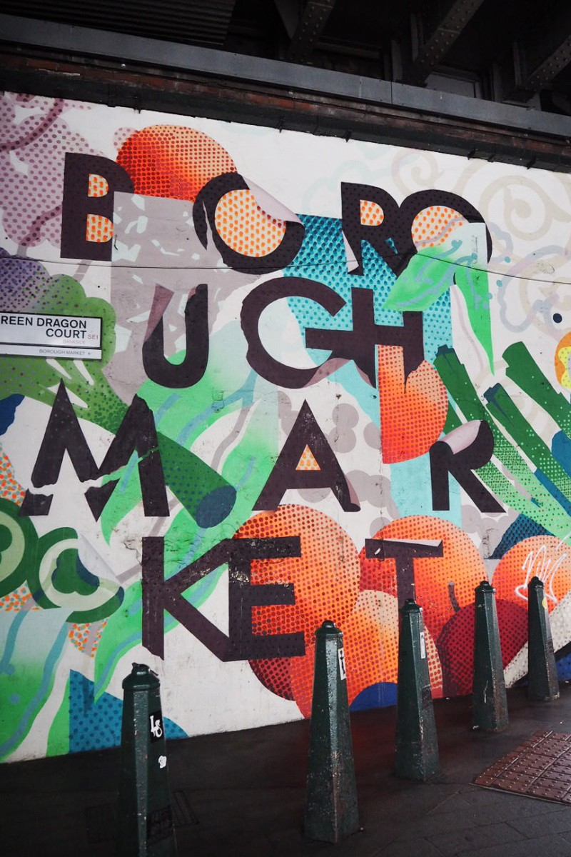 Borough Market Grafitti