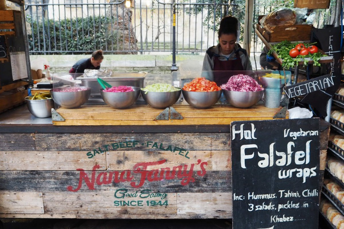 Borough Market Nana Fannys