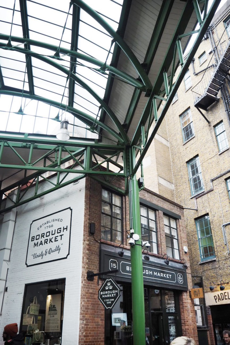 Borough Market Opening