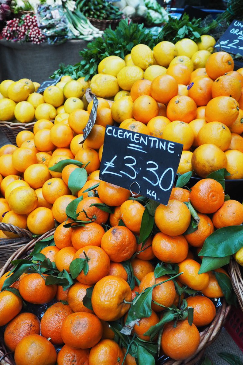 Borough Market Oranges and Lemons