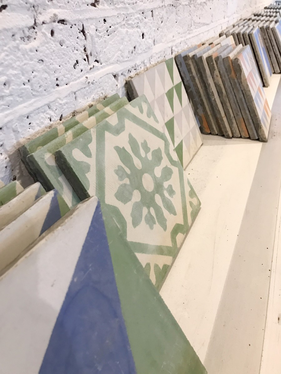 Bert and May Tile Workshop Vyner Street 14