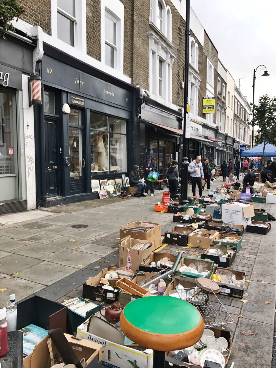 Antiques Golborne Road Notting Hill