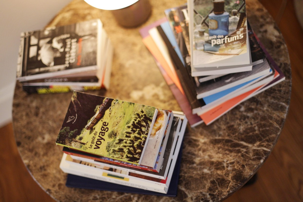 Le Pigalle Paris Bedroom Books