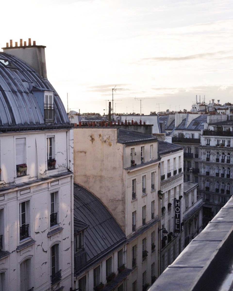 Le Pigalle Paris Bedroom Rooftop Views 2