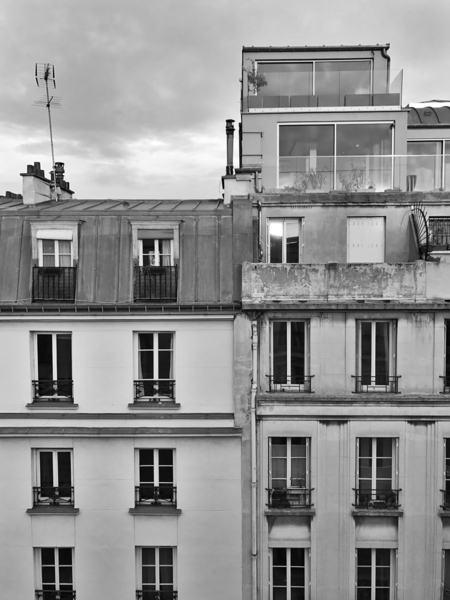 Le Pigalle Paris Bedroom Rooftop Views