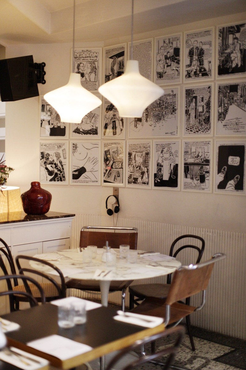 Le Pigalle Paris Dining Room Lounge