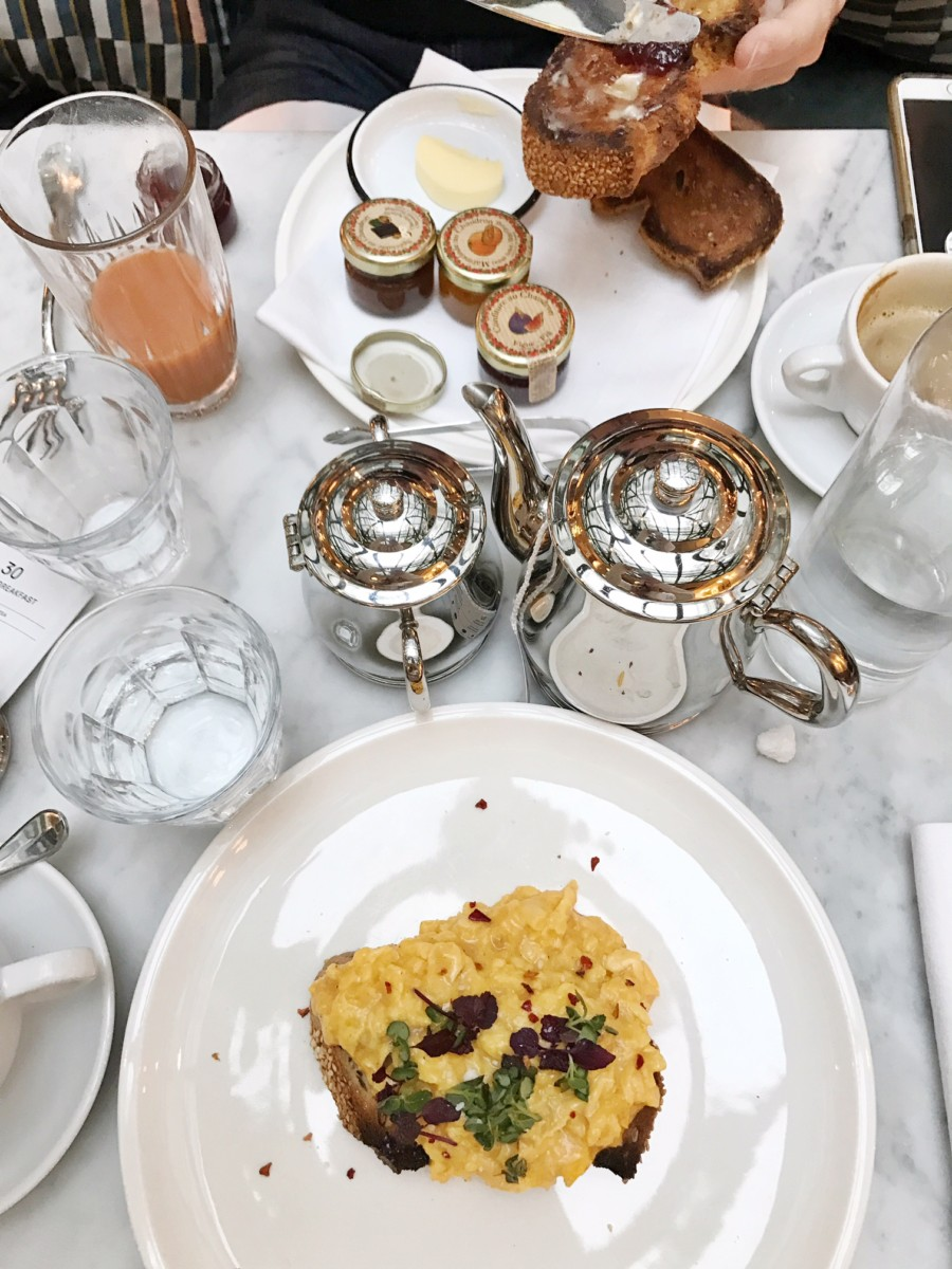 The Hoxton Paris Hotel Breakfast