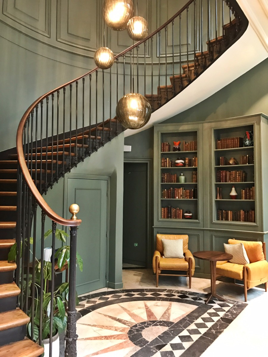 The Hoxton Paris Hotel Lobby Staircase