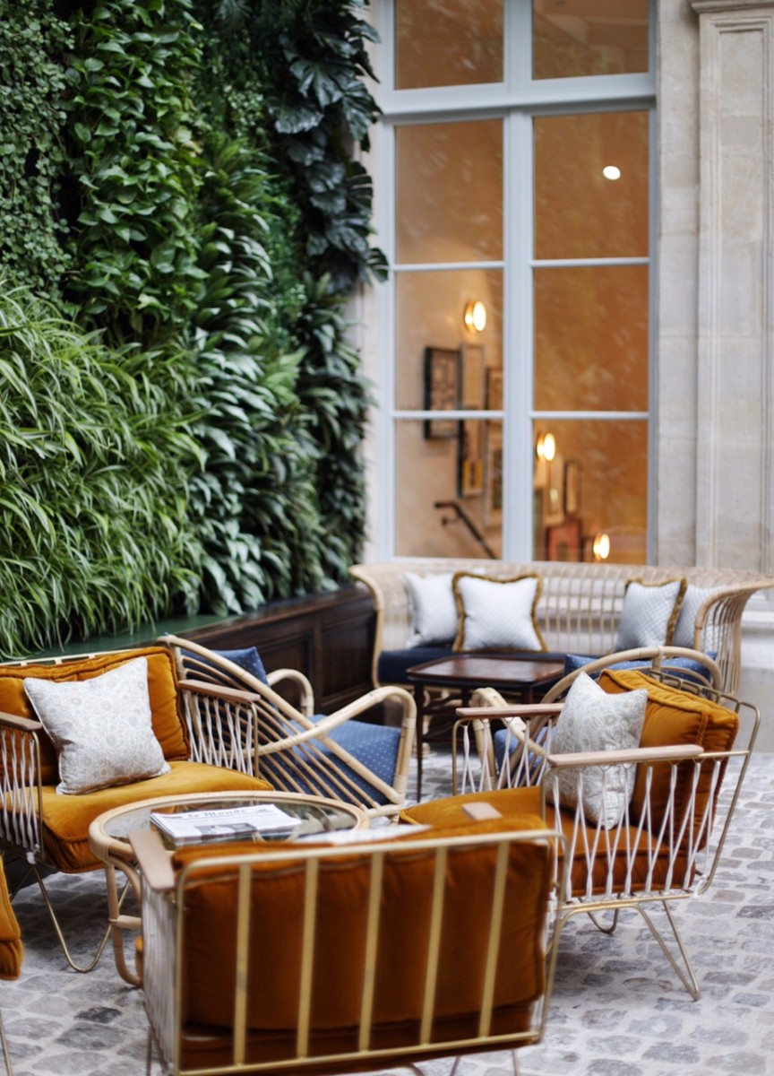 The Hoxton Paris Hotel Lobby