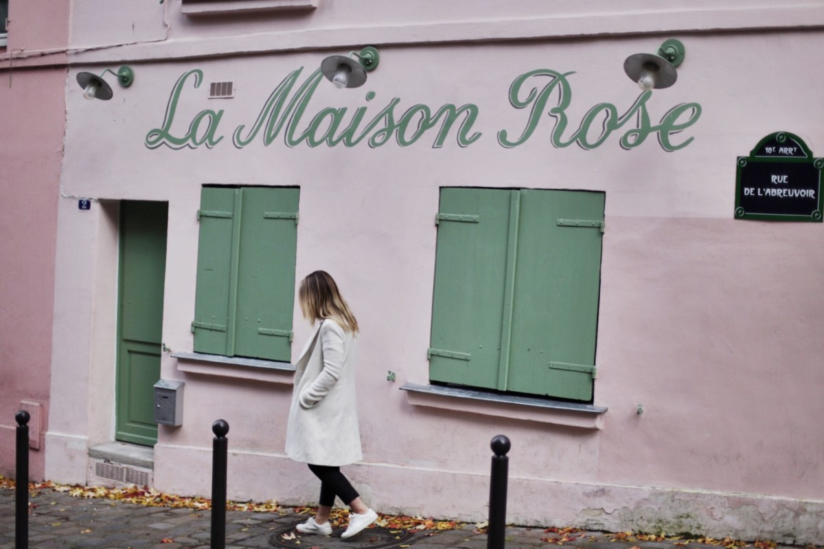 Montmartre Maison Rose Paris