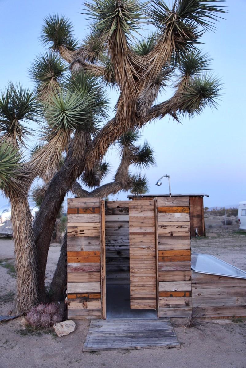 Camping in Joshua Tree Acres